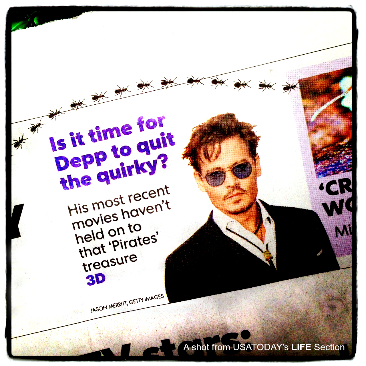 Has Johnny Depp Lost His Box Office Luster? POPgoesTheWeek Weighs In For USATODAY.
