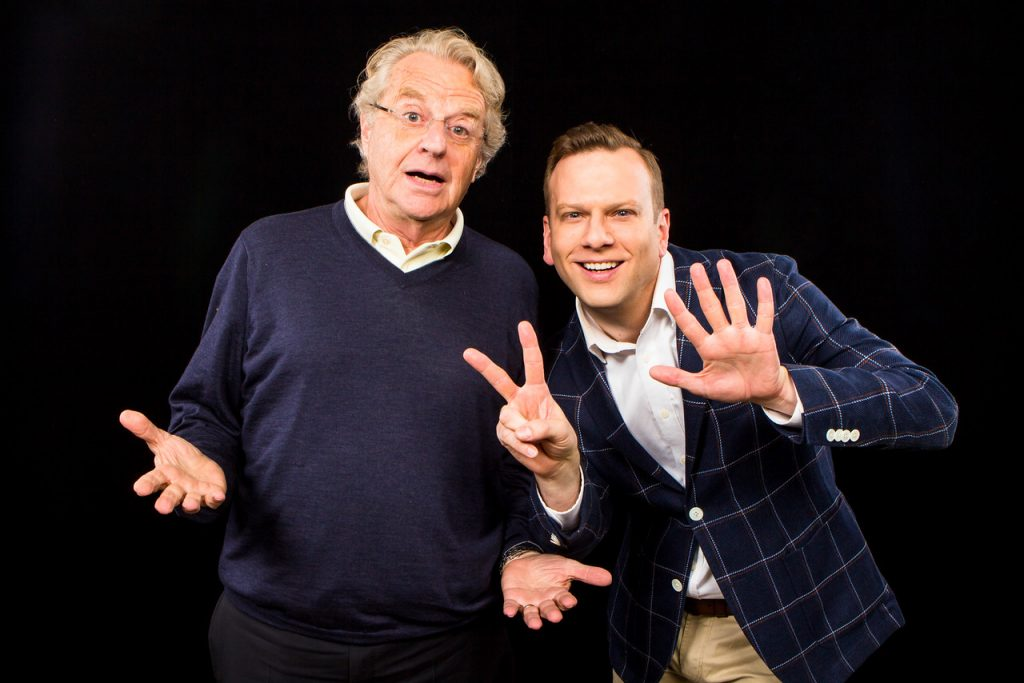 Jerry Springer and Brian Balthazar