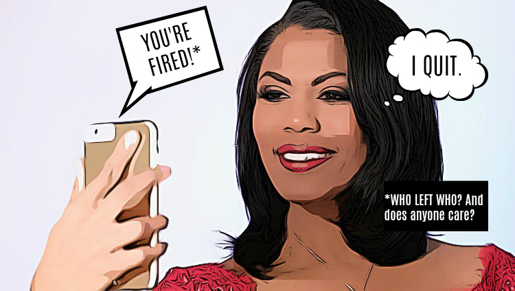 Omarosa Is Leaving The White House.