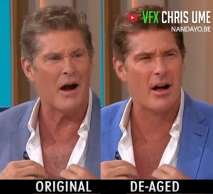 Watch How This Hasselhoff Deepfake Takes Years Off The Actor!