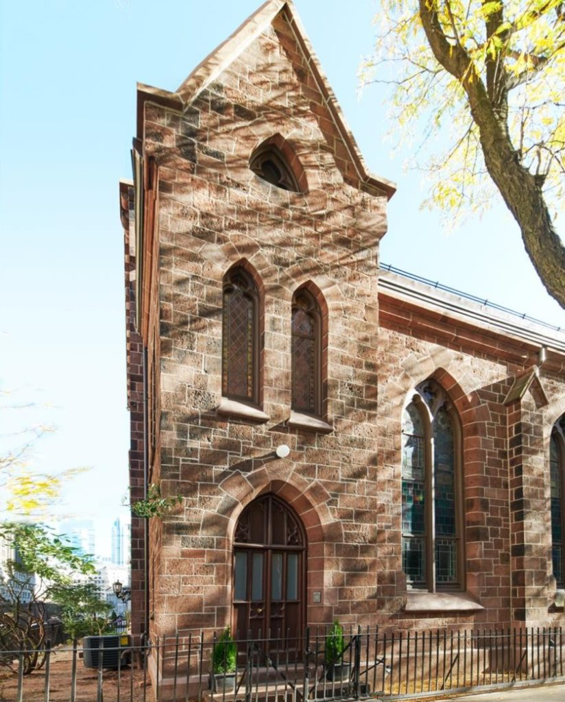 Heavenly Property! TV Comedy Writer Lists Gothic Church Apartment That's To Die For