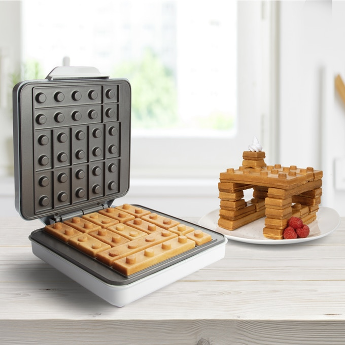 Foodies Rejoice! You Can Build Your Breakfast With This New Lego Waffle Maker